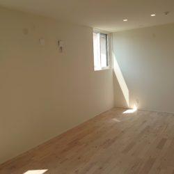 洋室(将来、間仕切り壁を作り、2部屋に分けることも可能です)